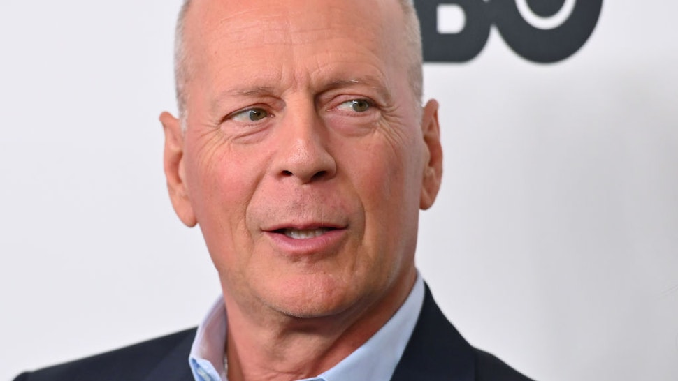 "US actor Bruce Willis attends the premiere of ""Motherless Brooklyn"" during the 57th New York Film Festival at Alice Tully Hall on October 11, 2019 in New York City."