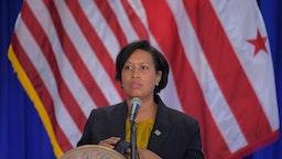 Washington DC Mayor Muriel Bowser