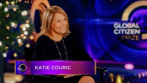 In this screengrab released on December 19th Katie Couric speaks during Global Citizen Prize Awards Special Honoring Changemakers In 2020 Shaping The World We Want on December 19, 2020 in New York City.