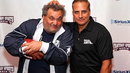NEW YORK, NY - JULY 19: Hosts of The Nick & Artie Show Artie Lange (L) and Nick DiPaolo (R) attend Sirius XM Annual Celebrity Fantasy Football Draft at Hard Rock Cafe New York on July 19, 2012 in New York City. (Photo by Cindy Ord/Getty Images for Sirius XM Radio)