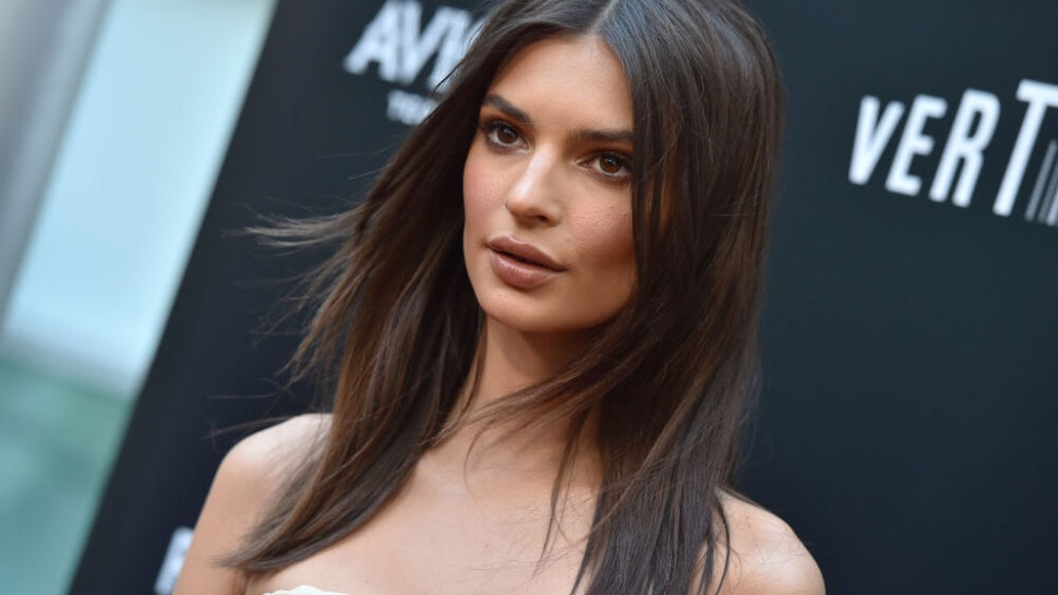 HOLLYWOOD, CA - MAY 23: Model Emily Ratajkowski attends the premiere of Vertical Entertainment's 'In Darkness' at ArcLight Hollywood on May 23, 2018 in Hollywood, California.