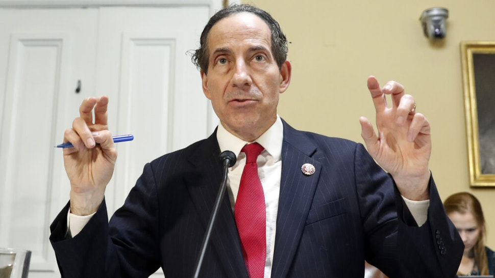 Representative Jamie Raskin, a Democrat from Maryland, speaks during a House Rules Committee markup meeting on Capitol Hill in Washington, D.C., U.S., on Tuesday, Dec. 17, 2019. The House is preparing for an expected vote Wednesday on two articles ofimpeachmentagainst PresidentDonald Trump.