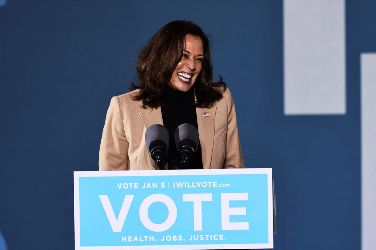 WALSH: Kamala Harris Is A Fraud, Failure And Liar. Other Than That, She's An Inspiration.