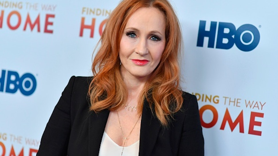 """British author J. K. Rowling attends HBO's """"Finding The Way Home"""" world premiere at Hudson Yards on December 11, 2019 in New York City."""