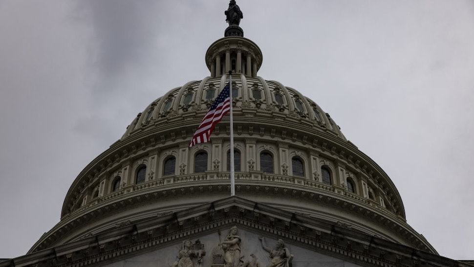 The U.S. Capitol in Washington, D.C., U.S., on Friday, Jan. 1, 2021. The Senate moved Wednesday toward a vote to override PresidentTrump's veto of a $740.5 billion defense policy bill, setting up a clash with the White House that may not culminate until the final hours before a new Congress begins on Sunday.