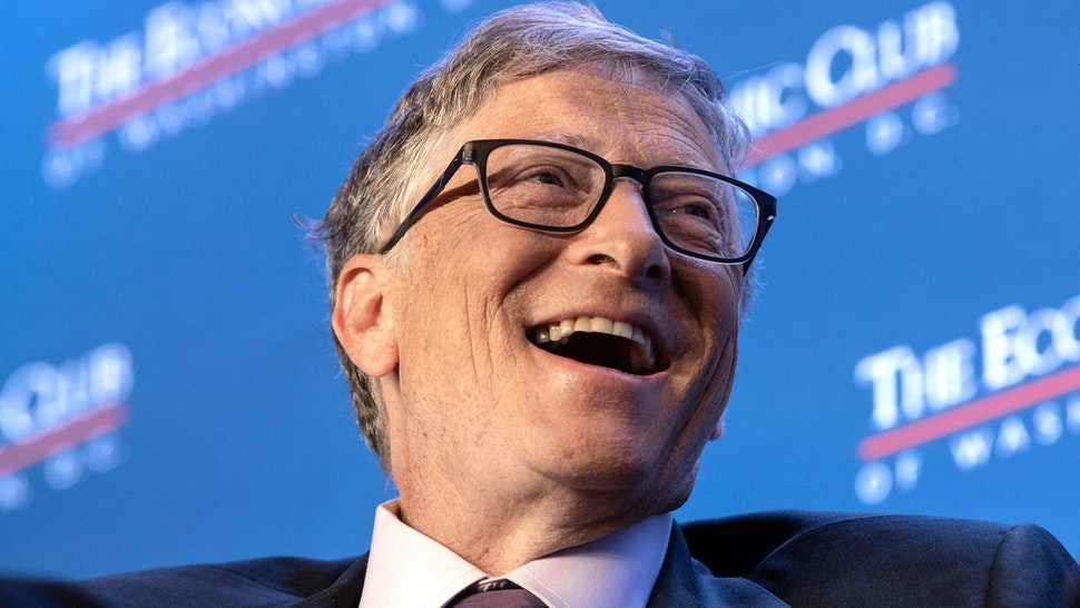 Microsoft co-founder Bill Gates speaks at the Economic Club of Washington's summer luncheon in Washington, DC, on June 24, 2019.