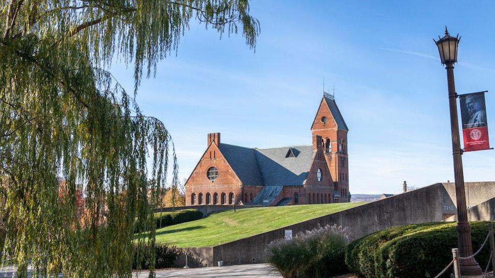 Barnes Hall, Cornell University, Ithaca, New York, USA.