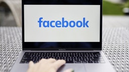 The logo for Facebook is displayed on a laptop computer in an arranged photograph taken in Little Falls, New Jersey, U.S., on Wednesday, Oct. 7, 2020. Facebook Inc. is tightening its rules on content concerning the U.S. presidential election next month, including instituting a temporary ban on political ads when voting ends, as it braces for a contentious night that may not end with a definitive winner. Photographer: Gabby Jones/Bloomberg