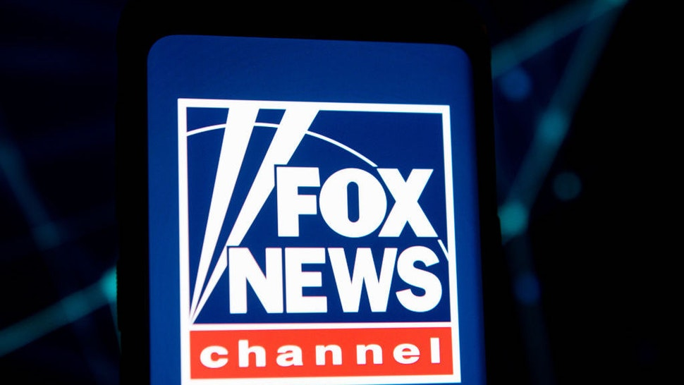 POLAND - 2020/03/23: In this photo illustration a Fox News Channel logo seen displayed on a smartphone. (Photo Illustration by Mateusz Slodkowski/SOPA Images/LightRocket via Getty Images)