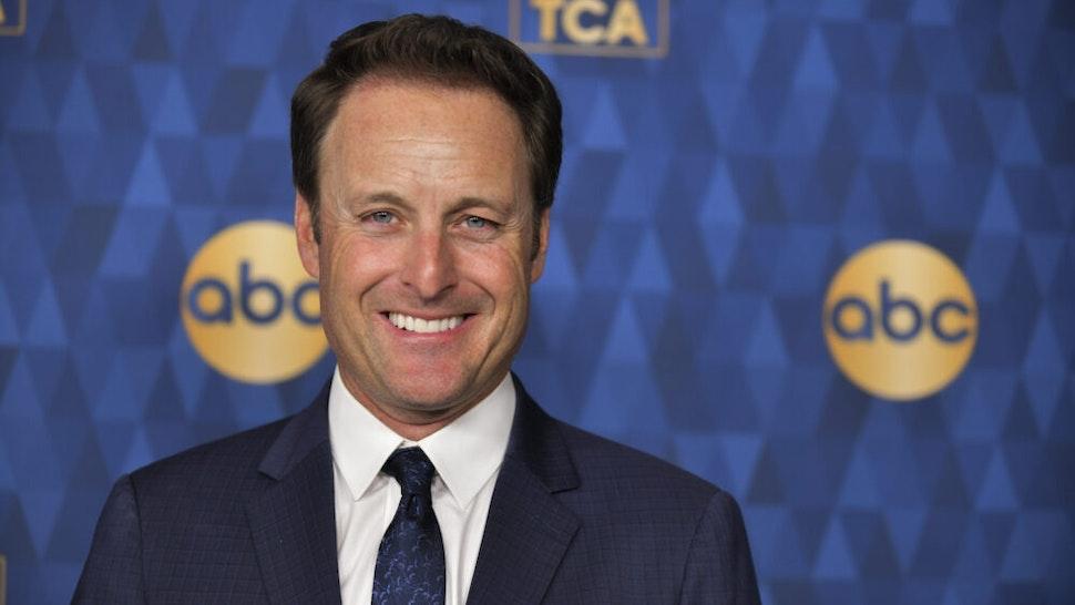 PASADENA, CALIFORNIA - JANUARY 08: Chris Harrison attends the ABC Television's Winter Press Tour 2020 at The Langham Huntington, Pasadena on January 08, 2020 in Pasadena, California.