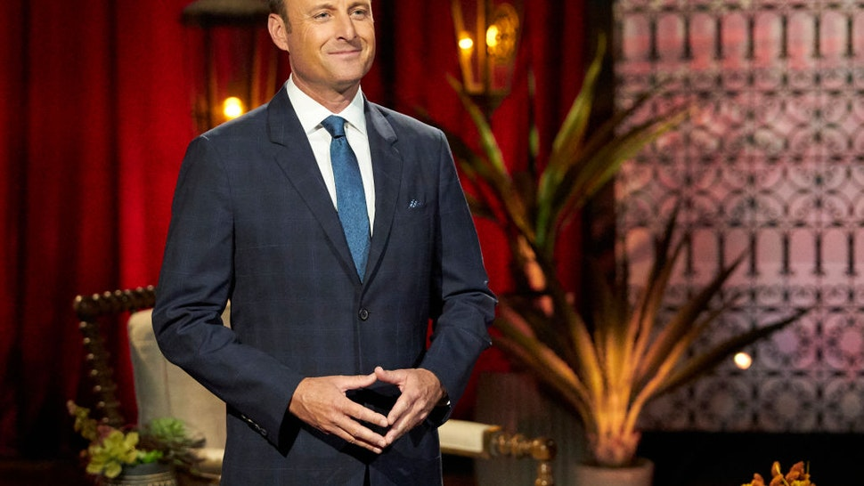 THE BACHELORETTE - 1605 Tayshia Adams, a huge fan favorite from The Bachelor and Bachelor in Paradise, has arrived to find the love of her life. Just when she is ready to begin her journey, another surprise arrives; more men are added to the 16 remaining bachelors who are excited to get to know her. The competition for Tayshia's heart heats up, but one man is struggling with his enduring feelings for Clare. Clare and her fiancé, Dale, have a heart-to-heart chat with Chris Harrison as they try to explain the thunderbolt that hit both of them simultaneously. Brendan captures the first one-on-one date with Tayshia, but although he is eager to make a deeper connection, he is worried that baggage from a past relationship might put an end to his romantic prospects before the night is over on The Bachelorette, TUESDAY, NOV. 10 (8:00-10:01 p.m. EST), on ABC. (Craig Sjodin/ABC via Getty Images) CHRIS HARRISON