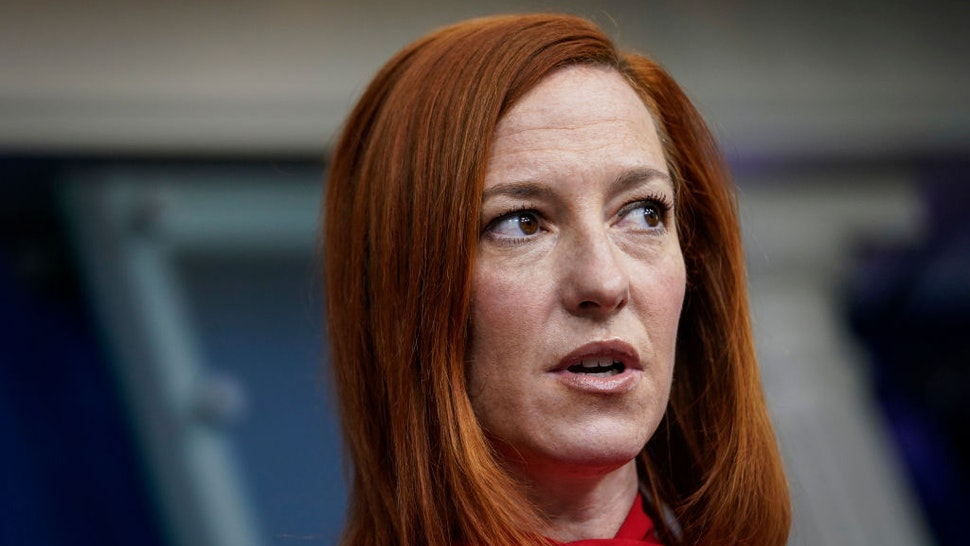 White House Press Secretary Jen Psaki speaks during the daily press briefing at the White House on February 17, 2021 in Washington, DC.