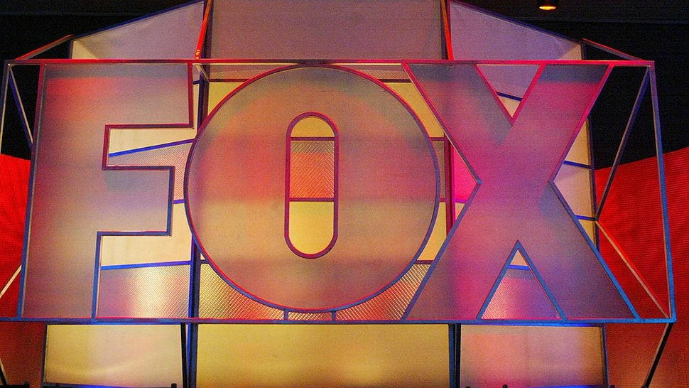 UNIVERSAL CITY, CA - JANUARY 17: The Fox Network logo is displayed during the 2005 Television Critics Winter Press Tour at the Hilton Universal Hotel on January 17, 2005 in Universal City, California. (Photo by Frederick M. Brown/Getty Images)
