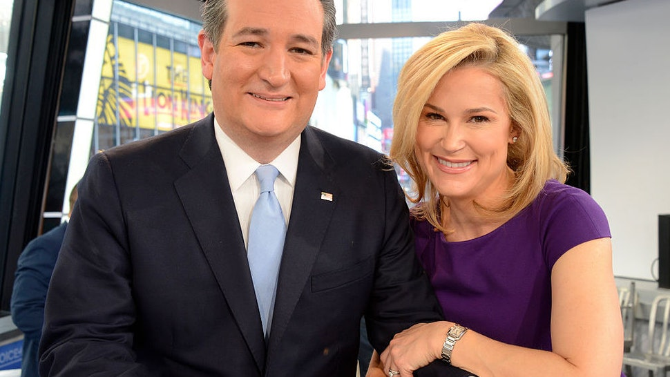 "GMA hosts a Town Hall Meeting with Republican Presidential Candidate, Senator Ted Cruz. The Town Hall airs on ""Good Morning America,"" 4/18/16, on the Walt Disney Television via Getty Images Television Network and all Walt Disney Television via Getty Images New Platforms."