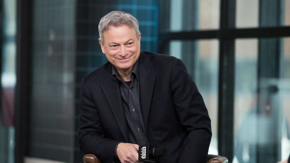 NEW YORK, NY - MARCH 22: Actor Gary Sinise visits Build Series to discuss 'Snowball Express' at Build Studio on March 22, 2018 in New York City. (Photo by Noam Galai/Getty Images)