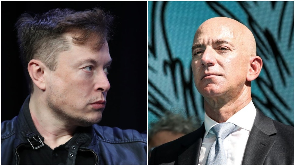 Musk, Bezos