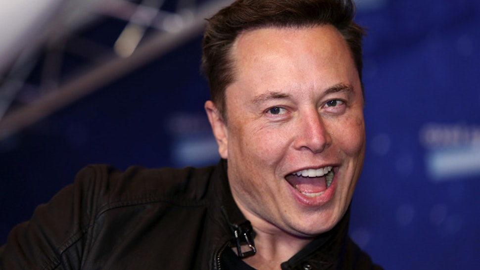Elon Musk, founder of SpaceX and chief executive officer of Tesla Inc., arrives at the Axel Springer Award ceremony in Berlin, Germany, on Tuesday, Dec. 1, 2020. Tesla Inc.will be added to the S&P 500 Index in one shot on Dec. 21, a move that will ripple through the entire market as money managers adjust their portfolios to make room for shares of the $538 billion company.