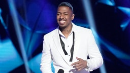 Host Nick Cannon in the Old Friends, New Clues: Group C Championships episode of THE MASKED SINGER airing Wednesday, March 25 (8:00-9:01 PM ET/PT) on FOX. (Photo by FOX via Getty Images)