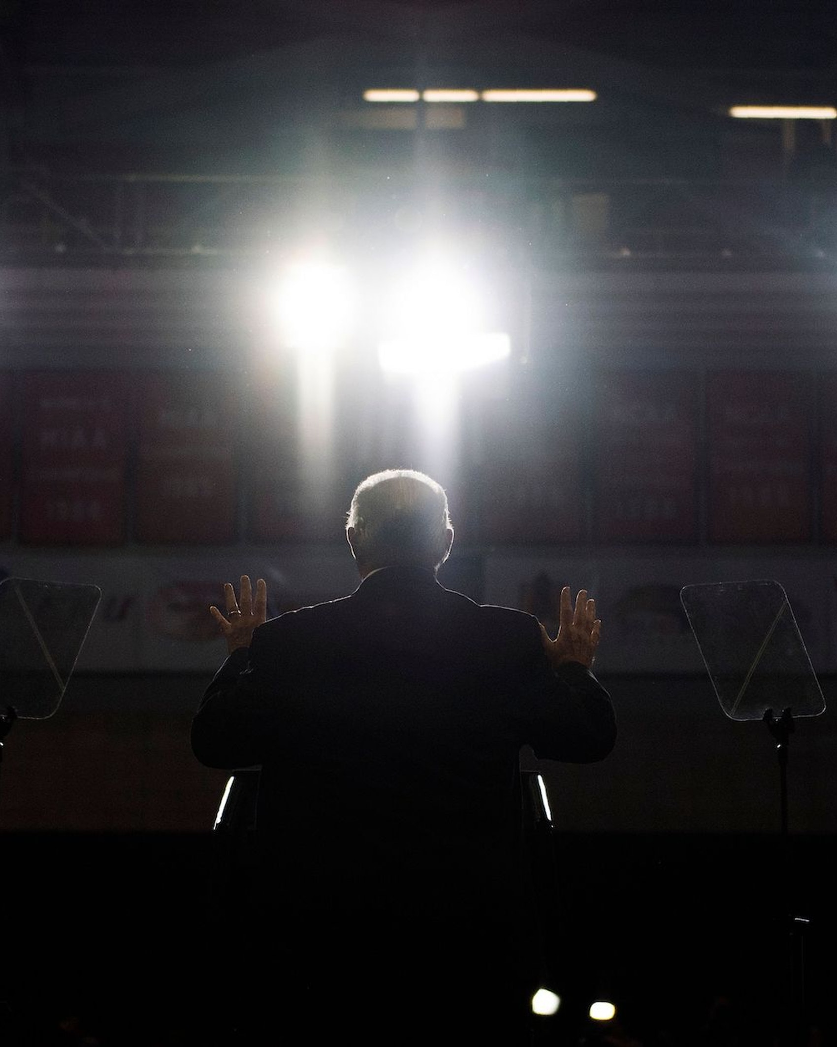 Radio talk show host Rush Limbaugh speaks at a Make America Great Again rally in Cape Girardeau, Missouri on November 5, 2018. (Photo by Jim WATSON / AFP) / The erroneous mention[s] appearing in the metadata of this photo by Jim WATSON has been modified in AFP systems in the following manner: [radio talk show host Rush Limbaugh] instead of {US president Donald Trump]. Please immediately remove the erroneous mention[s] from all your online services and delete it (them) from your servers. If you have been authorized by AFP to distribute it (them) to third parties, please ensure that the same actions are carried out by them. Failure to promptly comply with these instructions will entail liability on your part for any continued or post notification usage. Therefore we thank you very much for all your attention and prompt action. We are sorry for the inconvenience this notification may cause and remain at your disposal for any further information you may require.