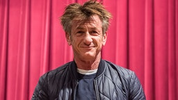 PHILADELPHIA, PA - MARCH 29: Actor and author Sean Penn discusses his new book 'Bob Honey Who Just Do Stuff: A Novel' at Free Library of Philadelphia on March 29, 2018 in Philadelphia, Pennsylvania.
