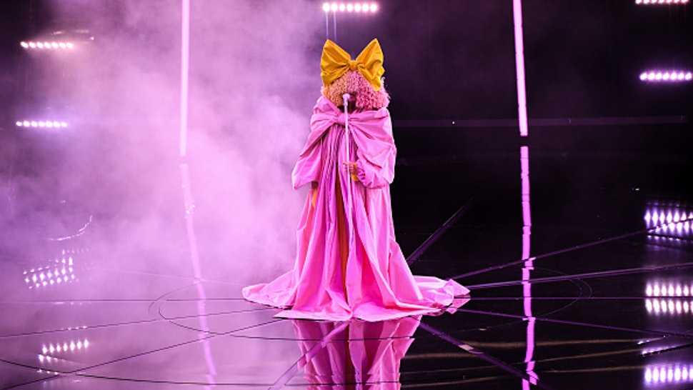 HOLLYWOOD, CALIFORNIA - OCTOBER 14: In this image released on October 14, Sia performs onstage at the 2020 Billboard Music Awards, broadcast on October 14, 2020 at the Dolby Theatre in Los Angeles, CA.