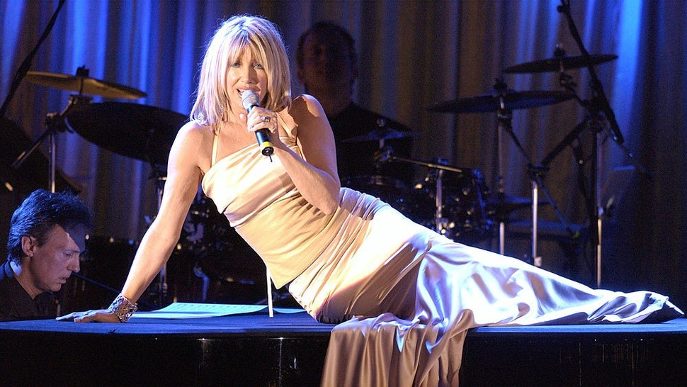 Suzanne Somers during 2003 Society of Singers ELLA Awards - Show at Beverly Hilton in Beverly Hills, California, United States. (Photo by