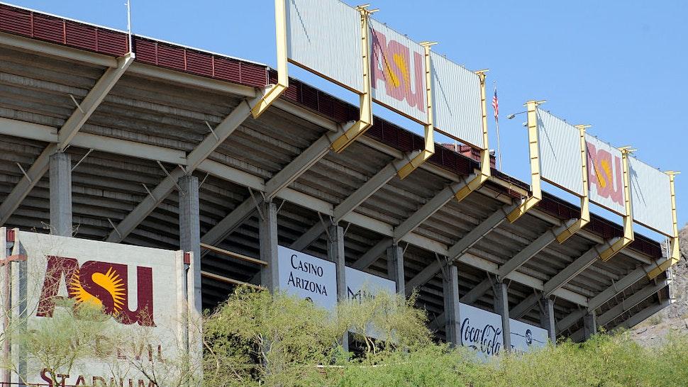 Sun Devils Stadium Arizona State University Tempe