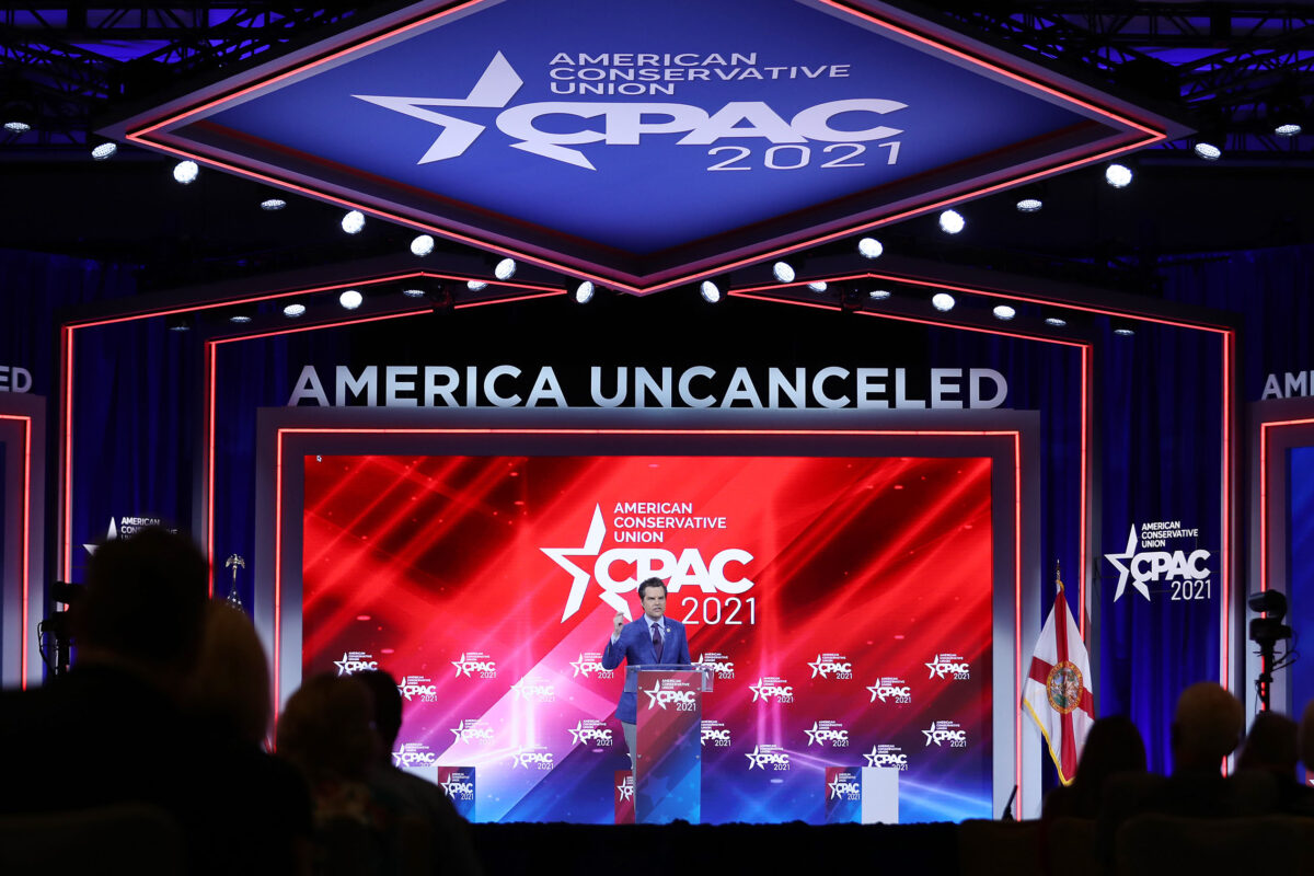 Design Company Steps Forward To Take 'Full Responsibility' For CPAC Stage Debacle: Report