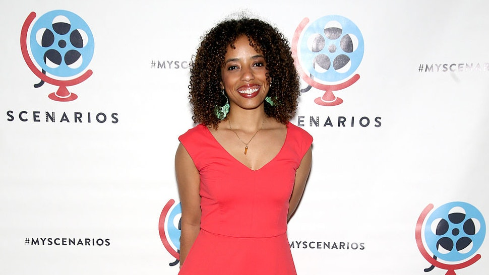 NEW YORK, NY - JUNE 07: Dena N. Simmons attends the 2016 Scenarios Awards Gala at Prince George Ballroom on June 7, 2016 in New York City.