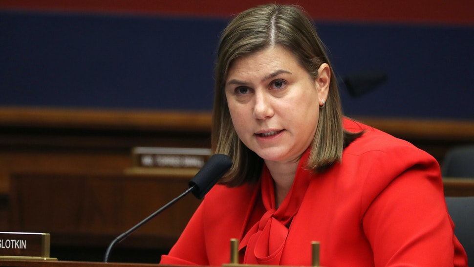 Representative Elissa Slotkin, a Democrat from, a Democrat from Michigan, speaks during a House Homeland Security Committee security hearing in Washington, D.C., U.S., on Thursday, Sept. 17, 2020. The hearing focused on international terrorism threats, the rise in domestic terrorism incidents and recent shootings as well as election security and cyber threats.