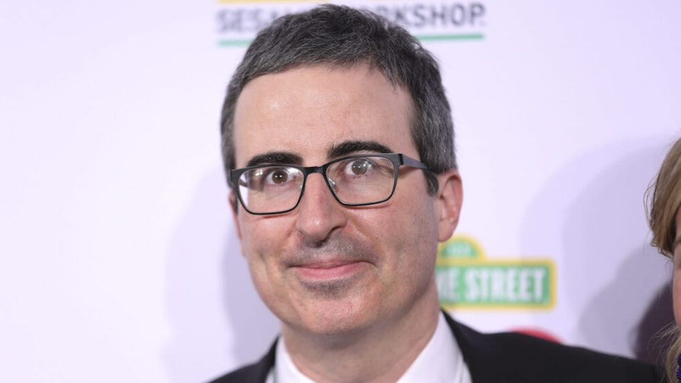 NEW YORK, NEW YORK - MAY 29: John Oliver attends the Sesame Workshop's 50th Anniversary Benefit Gala at Cipriani Wall Street on May 29, 2019 in New York City.