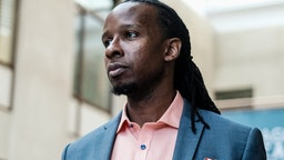 WASHINGTON, US - SEPTEMBER 26: American University professor Dr. Ibram X. Kendi, stands for a portrait at the School of International Service following a panel discussion on his new book How to Be an Antiracist in Washington, DC. Kendis discussion spoke on strategies to identify and overcome racism on September 26, 2019 in Washington, DC.