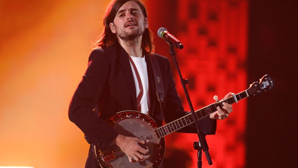 Winston Marshall of Mumford & Sons performs onstage during the 2019 iHeartRadio Music Festival at T-Mobile Arena on September 21, 2019 in Las Vegas, Nevada.