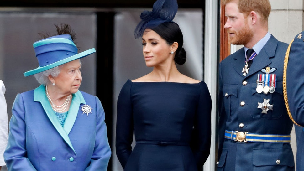Markle Queen Elizabeth
