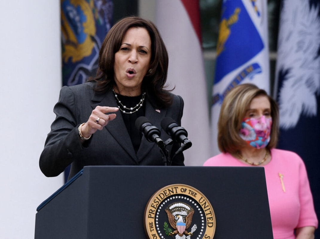 Kamala Harris Blusters 'Protect The Vaccinated,' Gets Mocked: 'What The Hell Is It Even For?'