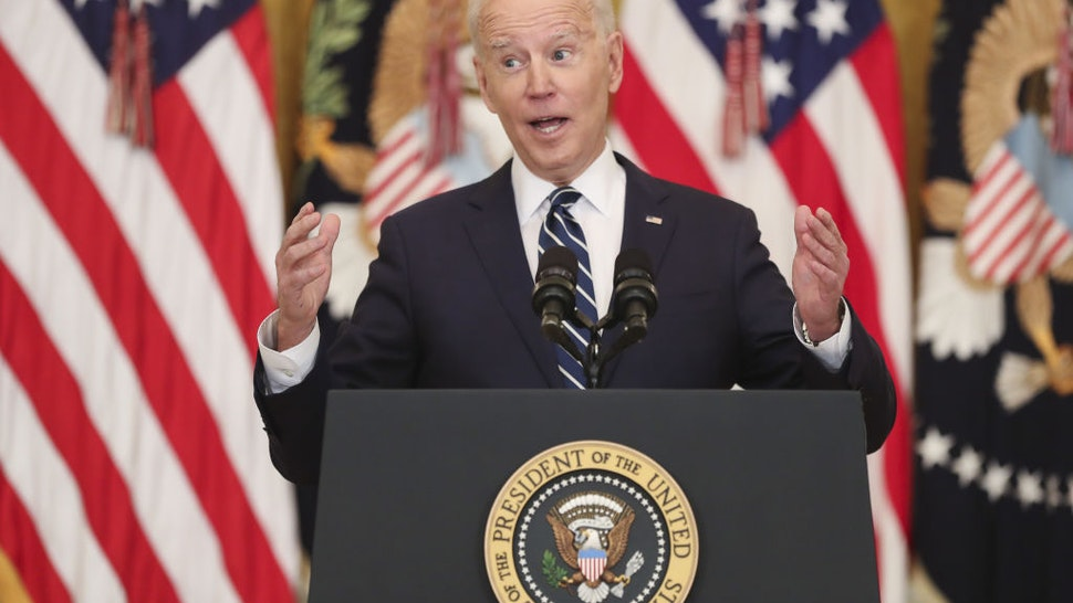 President Biden's News Conference Debut Puts Border, Guns, Covid In Focus