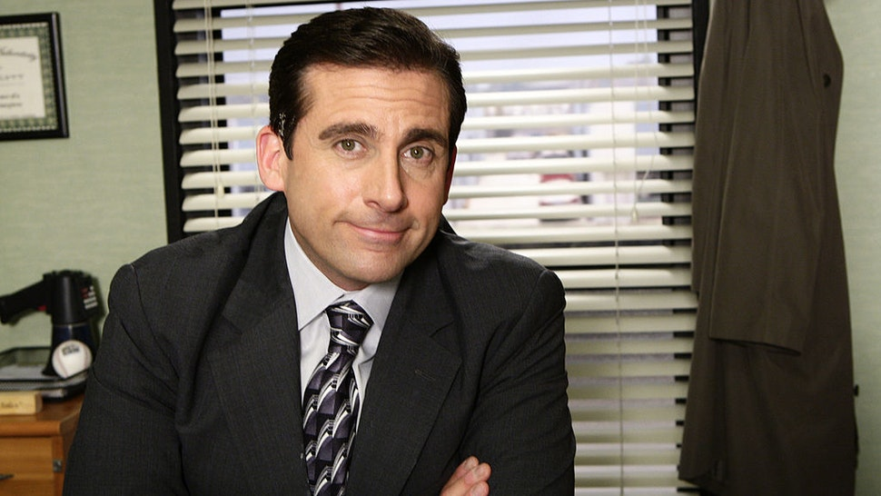 """""""Did I Stutter"""" Episode #4016 -- Airdate 05/01/2008 -- Pictured: Steve Carell as Michael Scott"""