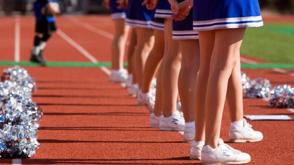 Cheerleaders - stock photo