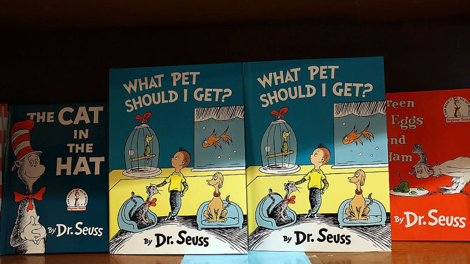 "Dr. Seuss' never-before-published book, ""What Pet Should I Get?"" is seen on display on the day it is released for sale at the Books and Books store on July 28, 2015 in Coral Gables, United States."