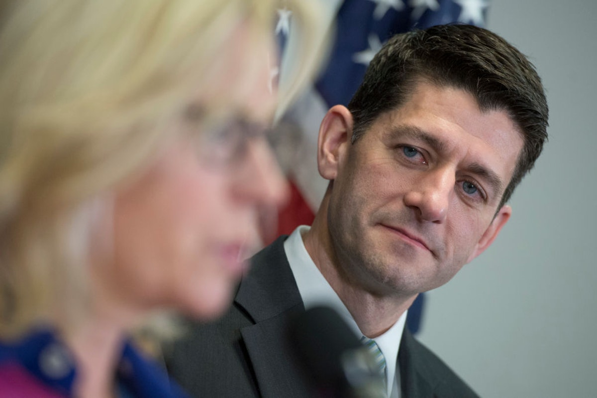 Paul Ryan To Host Fundraiser For Liz Cheney Amid Backlash Over Her Trump Criticism