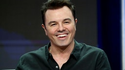 BEVERLY HILLS, CA - AUGUST 08: Creator/Writer/EP/Actor Seth MacFarlane of 'The Orville' speaks onstage during the FOX portion of the 2017 Summer Television Critics Association Press Tour at The Beverly Hilton Hotel on August 8, 2017 in Beverly Hills, California. (Photo by Frederick M. Brown/Getty Images)
