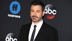NEW YORK, NY - MAY 15: TV Personality Jimmy Kimmel attends the 2018 Disney, ABC, Freeform Upfront on May 15, 2018 in New York City. (Photo by Desiree Navarro/WireImage)