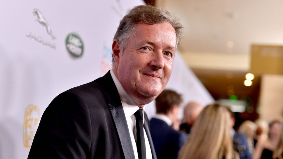 BEVERLY HILLS, CALIFORNIA - OCTOBER 25: Piers Morgan attends the 2019 British Academy Britannia Awards presented by American Airlines and Jaguar Land Rover at The Beverly Hilton Hotel on October 25, 2019 in Beverly Hills, California. (Photo by Emma McIntyre/BAFTA LA/Getty Images for BAFTA LA)