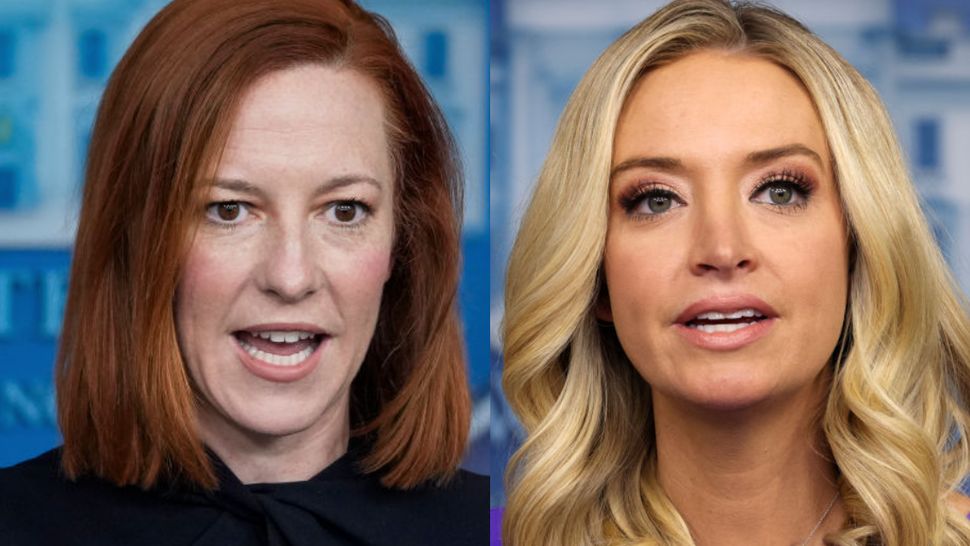 McEnany Rips Psaki For Hiding 'When The Going Gets Tough'