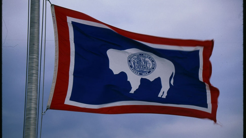 Wyoming state flag. (Visions of America LLC/Contributor via Getty Images)