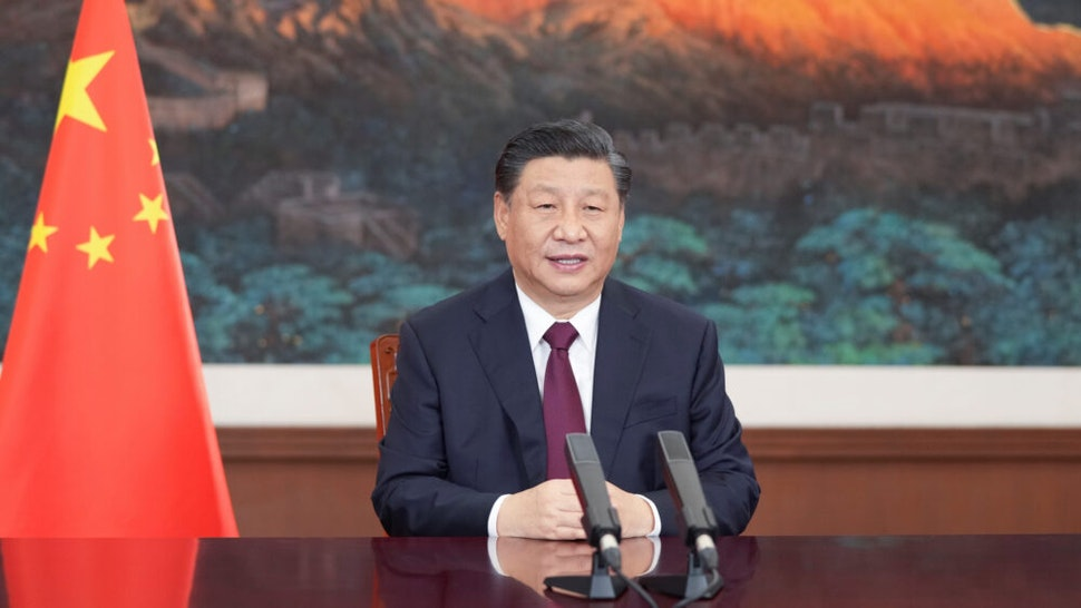 BEIJING, March 17, 2021 -- Chinese President Xi Jinping sends a video message to an event held by Bangladesh in commemoration of the centenary of its founding father Sheikh Mujibur Rahman's birth, also in celebration of the 50th anniversary of the country's independence on March 17, 2021. On behalf of the Chinese government and Chinese people, Xi extended sincere greetings and best wishes to Bangladeshi President Abdul Hamid, Bangladeshi Prime Minister Sheikh Hasina, and the Bangladeshi government and people.