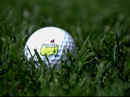 5 Apr 1999: A ball Masters golf ball displays the length of the new rough increased to 1 3/8 of an Inch before the 1999 US Masters at the Augusta National GC in Augusta, Georgia, USA. Mandatory Credit: