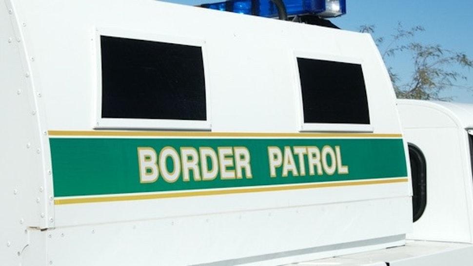 Border Patrol - stock photo