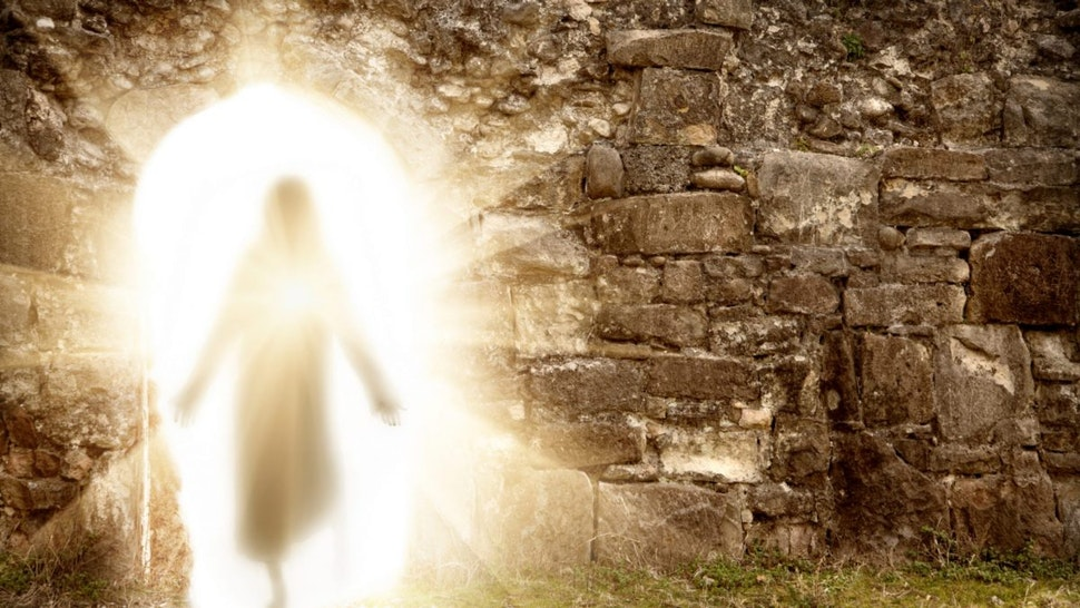 Easter. Resurrection - stock photo.