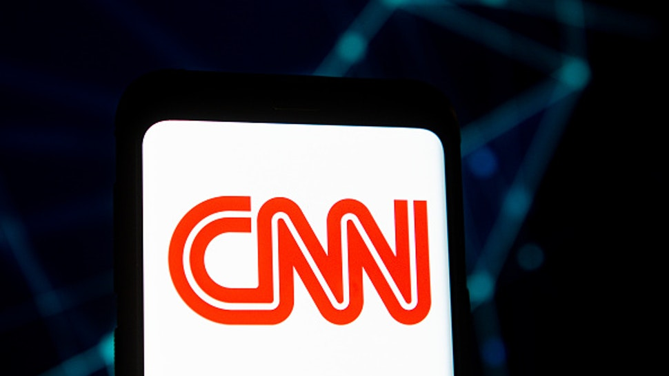 POLAND - 2020/03/23: In this photo illustration a CNN logo seen displayed on a smartphone.